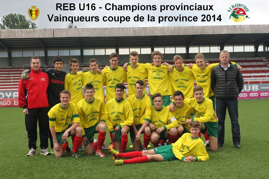 Blégny U16 coupe