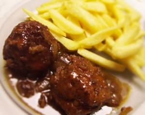 Boulet frites