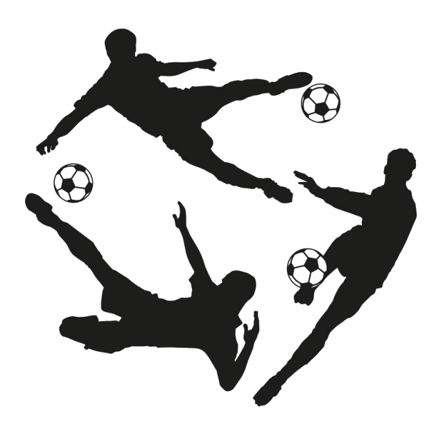 Silhouettes de footballeurs 23 2147515651